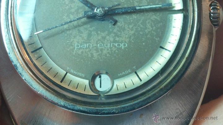 Relojes automáticos: PRIMER MODELO de la prestigiosa serie del reloj HAMILTON PAN-EUROP, el caballito alado, años 60 - Foto 8 - 51483589