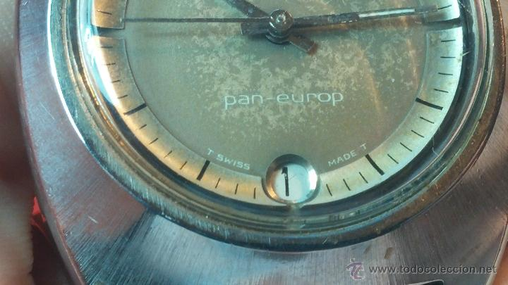 Relojes automáticos: PRIMER MODELO de la prestigiosa serie del reloj HAMILTON PAN-EUROP, el caballito alado, años 60 - Foto 9 - 51483589