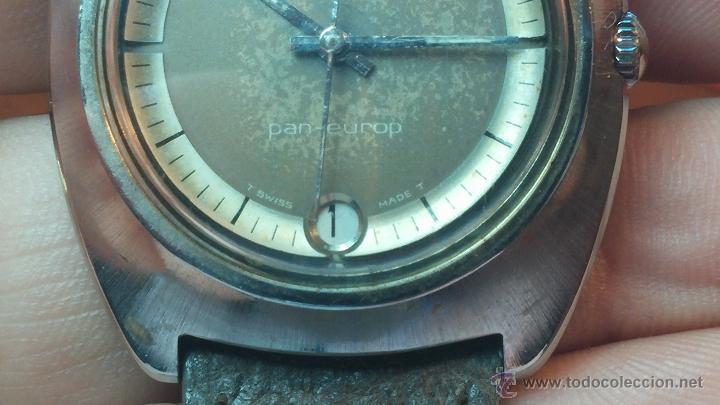 Relojes automáticos: PRIMER MODELO de la prestigiosa serie del reloj HAMILTON PAN-EUROP, el caballito alado, años 60 - Foto 13 - 51483589