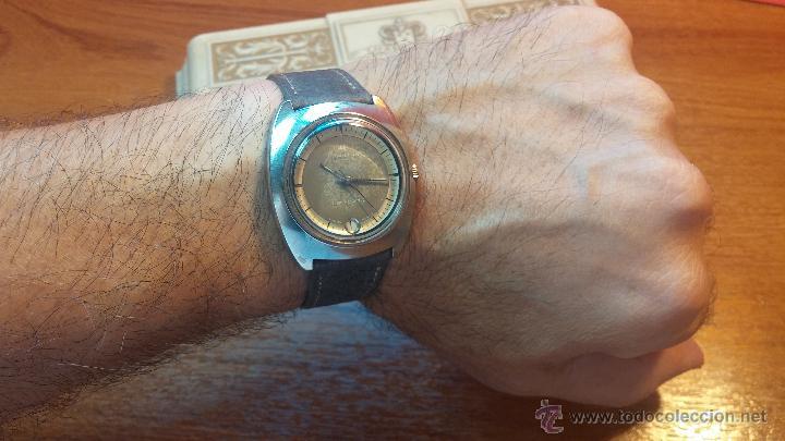 Relojes automáticos: PRIMER MODELO de la prestigiosa serie del reloj HAMILTON PAN-EUROP, el caballito alado, años 60 - Foto 14 - 51483589