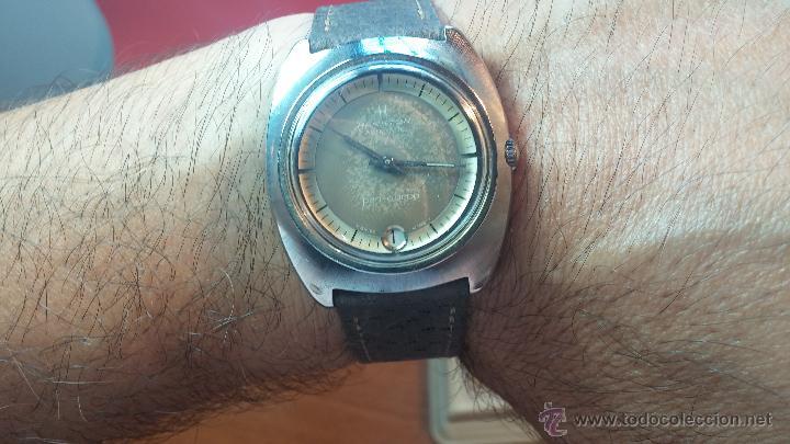 Relojes automáticos: PRIMER MODELO de la prestigiosa serie del reloj HAMILTON PAN-EUROP, el caballito alado, años 60 - Foto 15 - 51483589