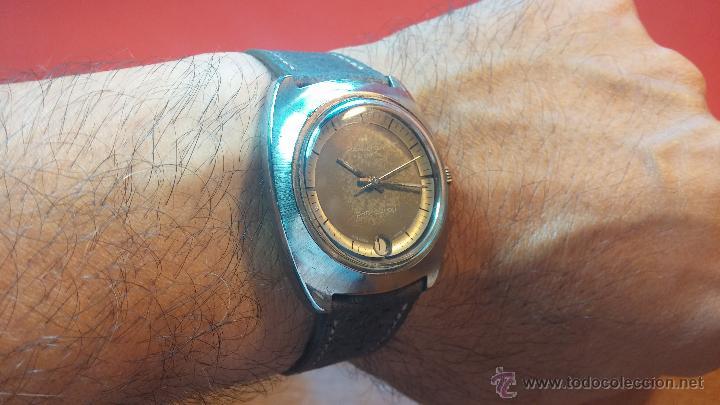 Relojes automáticos: PRIMER MODELO de la prestigiosa serie del reloj HAMILTON PAN-EUROP, el caballito alado, años 60 - Foto 16 - 51483589