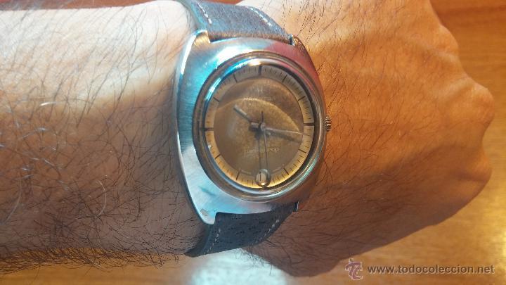 Relojes automáticos: PRIMER MODELO de la prestigiosa serie del reloj HAMILTON PAN-EUROP, el caballito alado, años 60 - Foto 17 - 51483589
