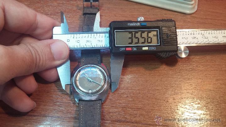 Relojes automáticos: PRIMER MODELO de la prestigiosa serie del reloj HAMILTON PAN-EUROP, el caballito alado, años 60 - Foto 22 - 51483589
