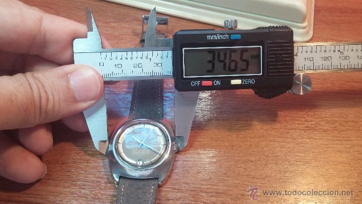 Relojes automáticos: PRIMER MODELO de la prestigiosa serie del reloj HAMILTON PAN-EUROP, el caballito alado, años 60 - Foto 23 - 51483589