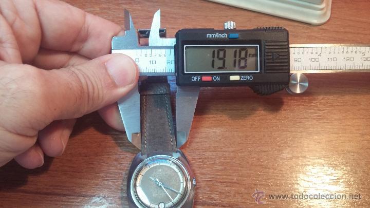 Relojes automáticos: PRIMER MODELO de la prestigiosa serie del reloj HAMILTON PAN-EUROP, el caballito alado, años 60 - Foto 24 - 51483589