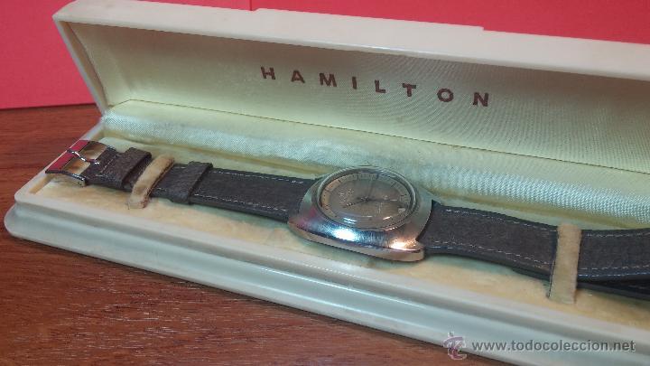 Relojes automáticos: PRIMER MODELO de la prestigiosa serie del reloj HAMILTON PAN-EUROP, el caballito alado, años 60 - Foto 26 - 51483589