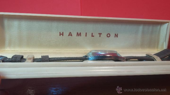 Relojes automáticos: PRIMER MODELO de la prestigiosa serie del reloj HAMILTON PAN-EUROP, el caballito alado, años 60 - Foto 27 - 51483589