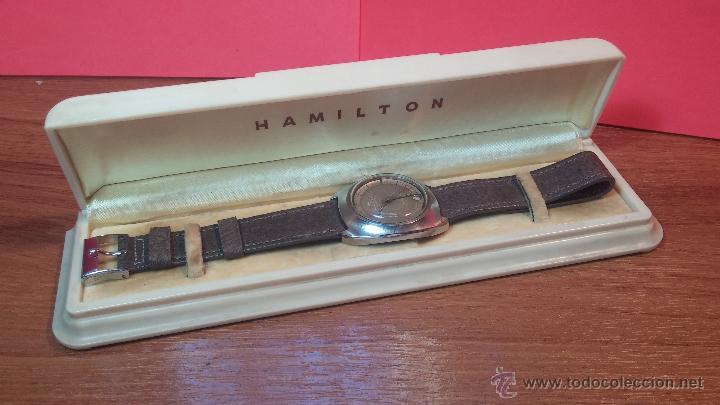 Relojes automáticos: PRIMER MODELO de la prestigiosa serie del reloj HAMILTON PAN-EUROP, el caballito alado, años 60 - Foto 28 - 51483589