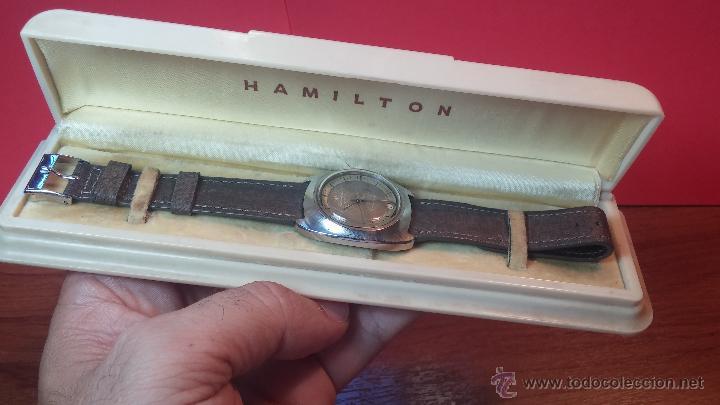 Relojes automáticos: PRIMER MODELO de la prestigiosa serie del reloj HAMILTON PAN-EUROP, el caballito alado, años 60 - Foto 31 - 51483589
