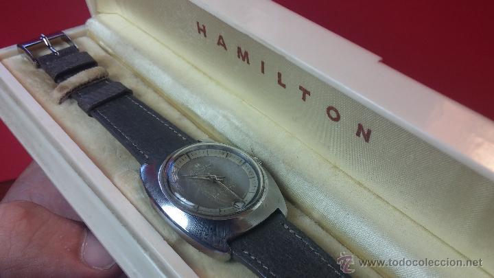 Relojes automáticos: PRIMER MODELO de la prestigiosa serie del reloj HAMILTON PAN-EUROP, el caballito alado, años 60 - Foto 34 - 51483589