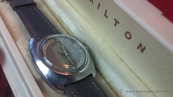 Relojes automáticos: PRIMER MODELO de la prestigiosa serie del reloj HAMILTON PAN-EUROP, el caballito alado, años 60 - Foto 38 - 51483589