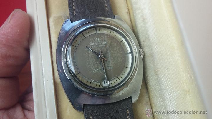 Relojes automáticos: PRIMER MODELO de la prestigiosa serie del reloj HAMILTON PAN-EUROP, el caballito alado, años 60 - Foto 39 - 51483589