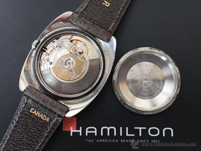 Relojes automáticos: PRIMER MODELO de la prestigiosa serie del reloj HAMILTON PAN-EUROP, el caballito alado, años 60 - Foto 40 - 51483589