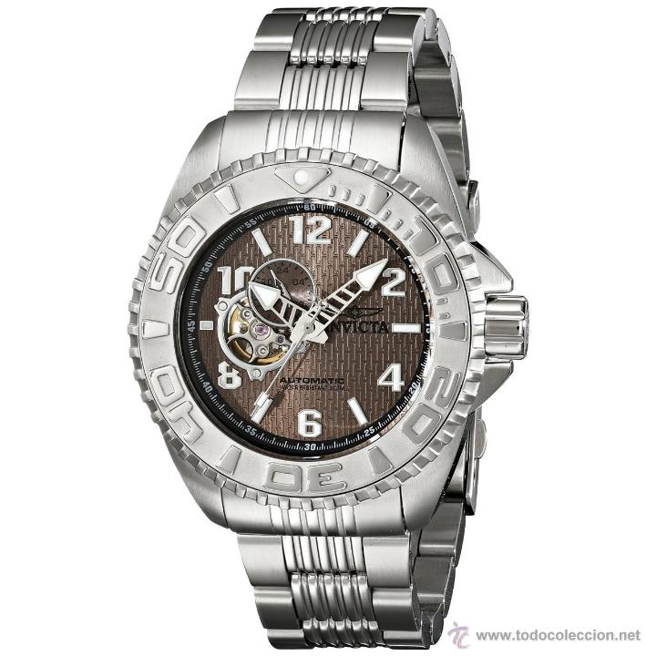 INVICTA MENS PRO DIVER OPENHEART AUTOMATICO GMT $895 (Relojes - Relojes Automáticos)