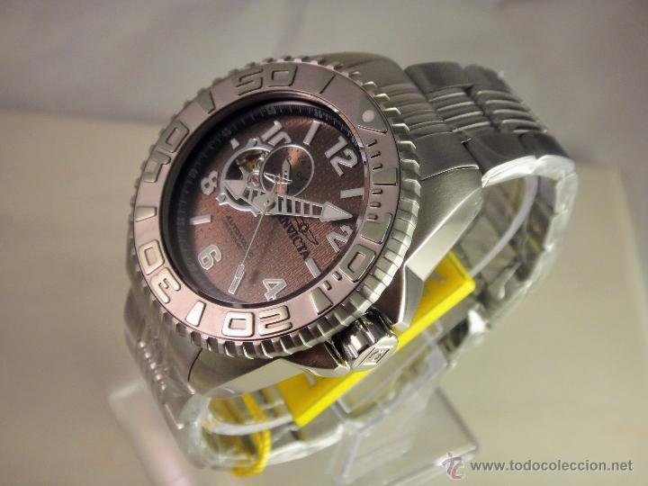 Relojes automáticos: Invicta Mens Pro Diver Openheart Automatico GMT $895 - Foto 3 - 51817567