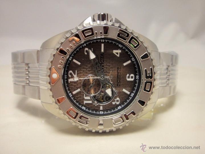 Relojes automáticos: Invicta Mens Pro Diver Openheart Automatico GMT $895 - Foto 5 - 51817567