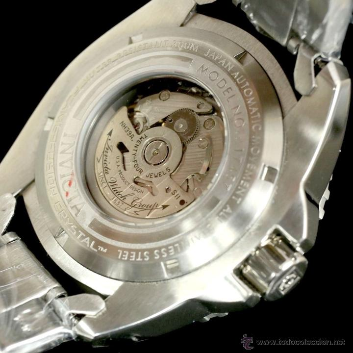 Relojes automáticos: Invicta Mens Pro Diver Openheart Automatico GMT $895 - Foto 8 - 51817567