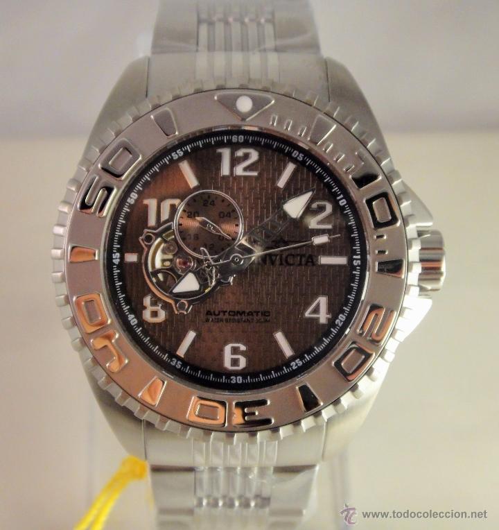 Relojes automáticos: Invicta Mens Pro Diver Openheart Automatico GMT $895 - Foto 11 - 51817567