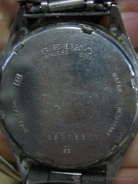Relojes automáticos: Reloj Seiko. No funciona - Foto 5 - 52010531