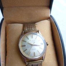 Relojes automáticos: ANTIGUO RELOJ THERMIDOR DE LUXE, INCABLOC, AUTOMATIC 21 RUBIES - FUNCIONANDO PERFECTAMENTE. Lote 52010792
