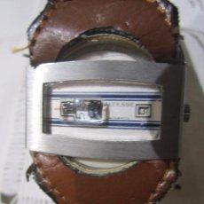 Relojes automáticos: ORIGINAL RELOJ ALTESSE AUTOMÁTICO, DE SALTO. SISTEMA DE CORREA COMPLICADO - 3,5 X 3,5 CMS. MUY RARO. Lote 52735216