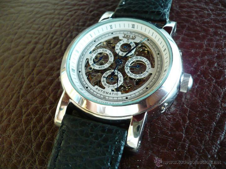 TRIAS - GERMANY - SKELETON ELEGANTE ORIGINAL (Relojes - Relojes Automáticos)