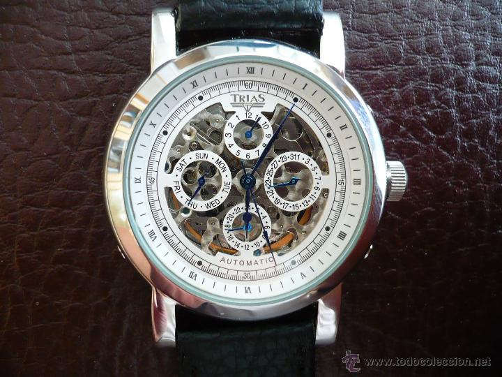 Relojes automáticos: TRIAS - GERMANY - SKELETON ELEGANTE original - Foto 2 - 53161838