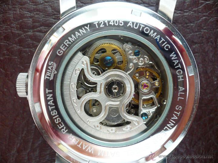 Relojes automáticos: TRIAS - GERMANY - SKELETON ELEGANTE original - Foto 3 - 53161838