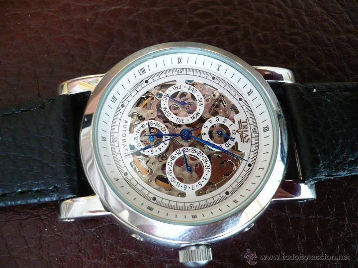 Relojes automáticos: TRIAS - GERMANY - SKELETON ELEGANTE original - Foto 4 - 53161838