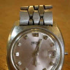 Relojes automáticos: RELOJ PULSERA SEIKO AUTOMATICO FUNCIONANDO. Lote 53344937