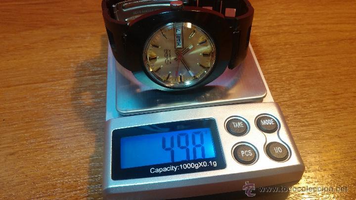 Relojes automáticos: Reloj DUWARD AUTOMATICO, AS 2066, modelo de RARO y ESCASO de color negro en PVD, de los años 70 - Foto 47 - 53395787