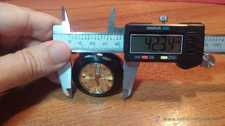 Relojes automáticos: Reloj DUWARD AUTOMATICO, AS 2066, modelo de RARO y ESCASO de color negro en PVD, de los años 70 - Foto 53 - 53395787