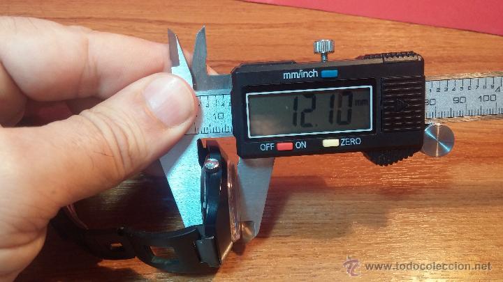 Relojes automáticos: Reloj DUWARD AUTOMATICO, AS 2066, modelo de RARO y ESCASO de color negro en PVD, de los años 70 - Foto 55 - 53395787