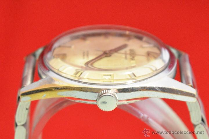 Relojes automáticos: ANTIGUO RELOJ HOMBRE AUTOMATICO SUIZO DOGMA 23 RUBIS FUNCIONANDO SWISS MADE - Foto 9 - 53714662
