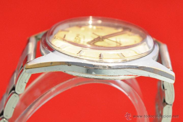 Relojes automáticos: ANTIGUO RELOJ HOMBRE AUTOMATICO SUIZO DOGMA 23 RUBIS FUNCIONANDO SWISS MADE - Foto 11 - 53714662