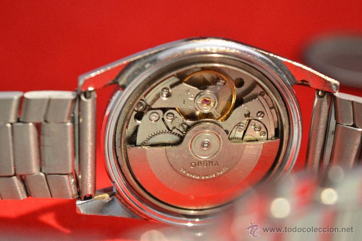 Relojes automáticos: ANTIGUO RELOJ HOMBRE AUTOMATICO SUIZO DOGMA 23 RUBIS FUNCIONANDO SWISS MADE - Foto 17 - 53714662