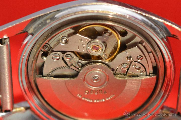 Relojes automáticos: ANTIGUO RELOJ HOMBRE AUTOMATICO SUIZO DOGMA 23 RUBIS FUNCIONANDO SWISS MADE - Foto 18 - 53714662