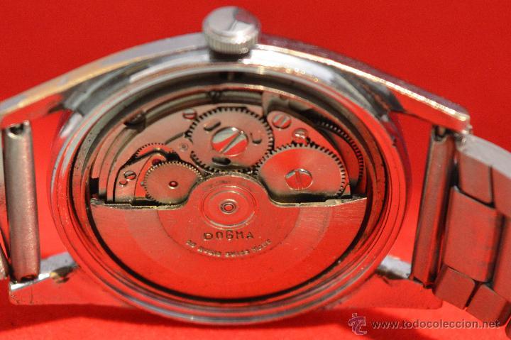 Relojes automáticos: ANTIGUO RELOJ HOMBRE AUTOMATICO SUIZO DOGMA 23 RUBIS FUNCIONANDO SWISS MADE - Foto 20 - 53714662