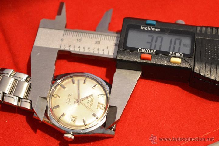 Relojes automáticos: ANTIGUO RELOJ HOMBRE AUTOMATICO SUIZO DOGMA 23 RUBIS FUNCIONANDO SWISS MADE - Foto 23 - 53714662