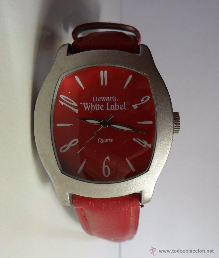 RELOJ PUBLICITARIO DEWAR'S WHITE LABEL (Relojes - Relojes Automáticos)