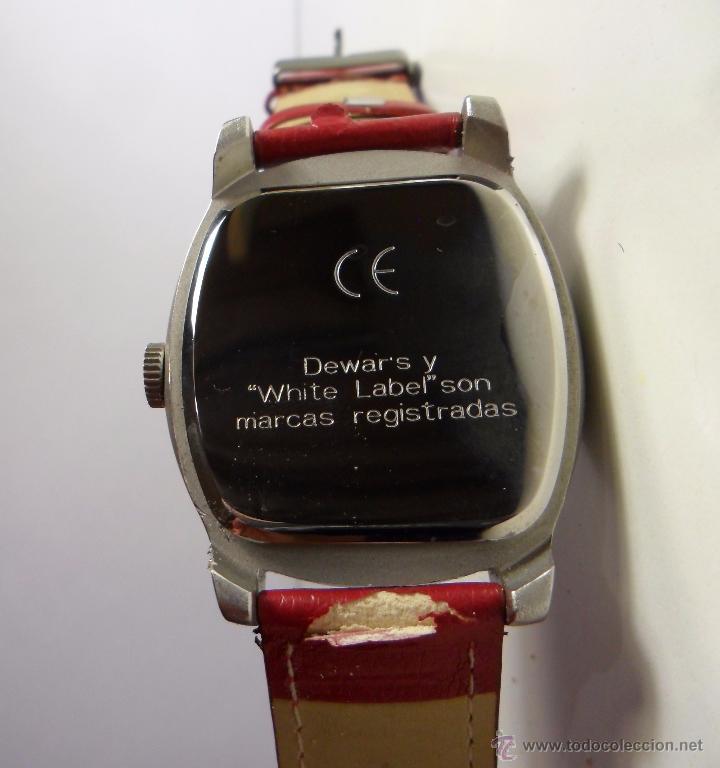 Relojes automáticos: Reloj publicitario Dewars White Label - Foto 3 - 53814458