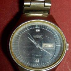 Relojes automáticos: RELOJ VINTAGE DE PULSERA PARA SEÑORA. CITIZEN AUTOMATIC. 21 JEWELS. EN ESTADO DE MARCHA.. Lote 53935963