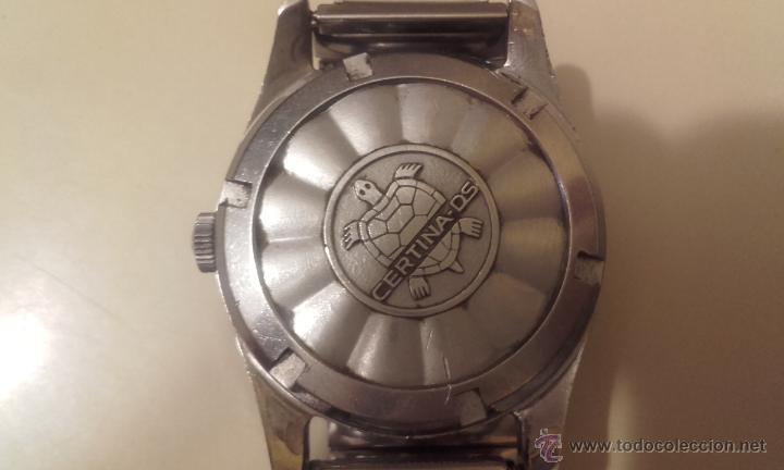 Relojes automáticos: Lote cuatro relojes. UNIVERSAL, CERTINA DS TORTUGA, CERTINA BLUE RIBBON, STANDEX. - Foto 3 - 56260103