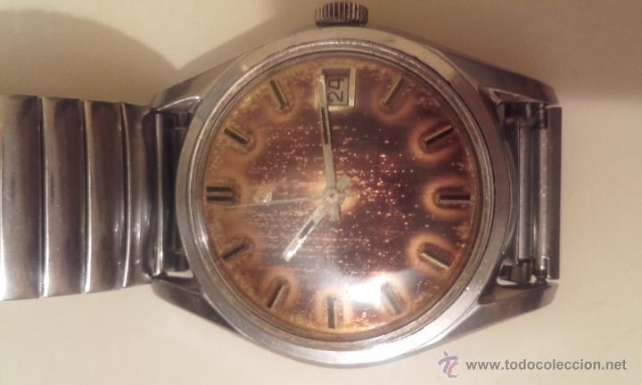 Relojes automáticos: Lote cuatro relojes. UNIVERSAL, CERTINA DS TORTUGA, CERTINA BLUE RIBBON, STANDEX. - Foto 7 - 56260103