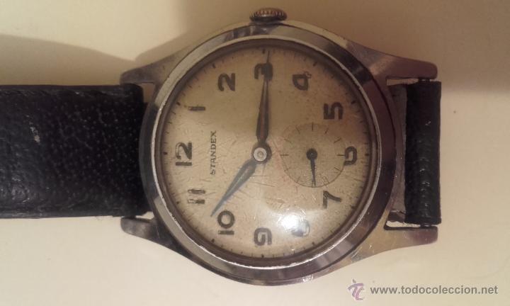 Relojes automáticos: Lote cuatro relojes. UNIVERSAL, CERTINA DS TORTUGA, CERTINA BLUE RIBBON, STANDEX. - Foto 8 - 56260103