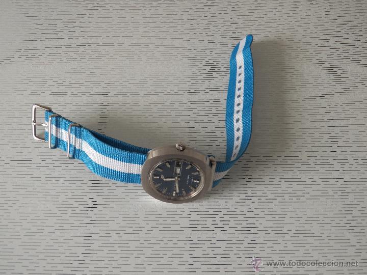 Relojes automáticos: reloj enicar automatico con defecto - Foto 4 - 44670067