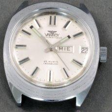 Relojes automáticos: RELOJ AUTOMÁTICO VANROY 25 RUBIS INCABLOC ESFERA BLANCA FUNCIONA. Lote 74933262