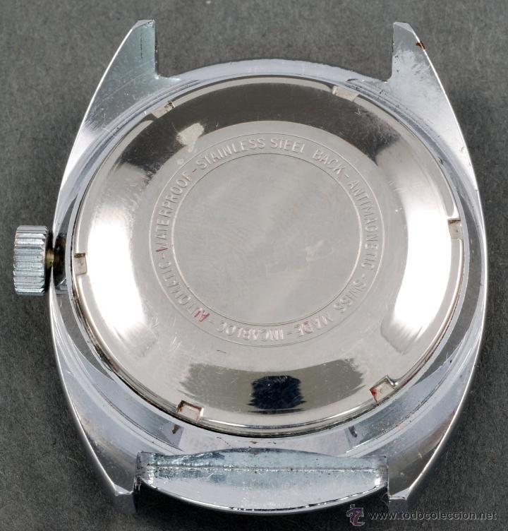 Relojes automáticos: Reloj automático Vanroy 25 rubis Incabloc esfera blanca Funciona - Foto 2 - 74933262