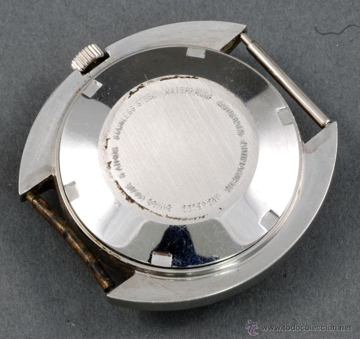 Relojes automáticos: Reloj automático Vanroy 25 rubis Incabloc esfera blanca Funciona - Foto 2 - 54404194